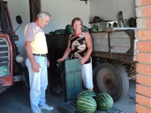Anna Rauzová so zákazníkom