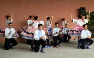 V bohatom kultúrno-umeleckom programe sa zúčastnili aj tanečníci SKUS hrdinu Janka Čmelíka