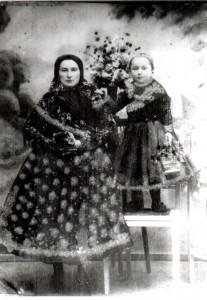Matka s dieťaťom v 1915 roku
