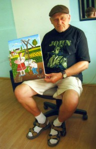 Ján Hriešik sa vo voľnom čase už vyše 40 rokov zaoberá maliarstvom
