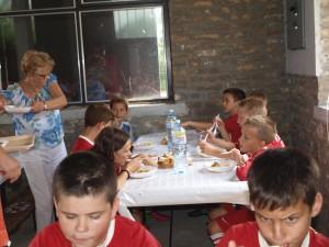Všetci hráči na turnaji mali spoločný obed