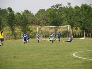 Petrovčan Stanislav Častven oslavuje jeden z gólov