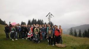 Po výstupe na Malinô Brdo sa spoločne vyfotili