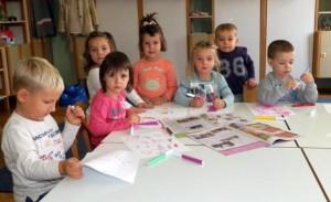 Deti z Poletarca pripravujú nové zásielky zaujímavých výkresov